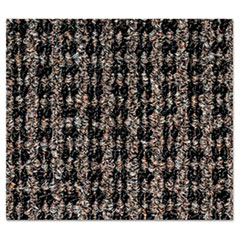 Crown Oxford Wiper Mat, 48 x 72, Black/Brown