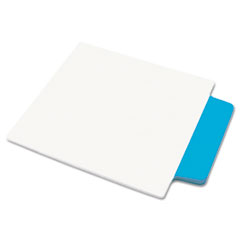 Avery NoteTabs-Notes, Tabs and Flags in One, Neon Blue/Clear, Three Inch, 10/Pack