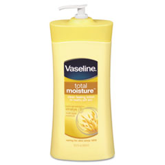 Vaseline Total Moisture Dry Skin Lotion w/Vitamin E, 20.3oz, Pump Bottle
