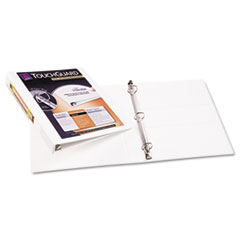 Avery Antimicrobial View Binder w/One-Touch Slant Rings, 1