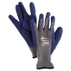 AnsellPro GLOVES PWRFLX LATEX XL Powerflex Gloves, Blue-gray, Size 10, 1 Pair