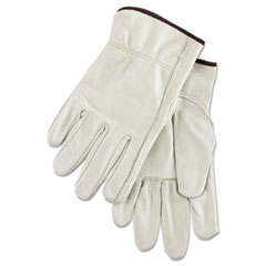 Anchor Brand® GLOVES PREM DRIVER LGE 4000 Series Cowhide Leather Driver Gloves, Large