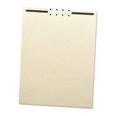 Smead Recycled Letter Size Manila File Backs w/Prong Fasteners, 2