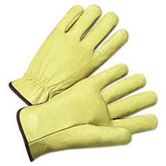 Anchor Brand® GLOVES PIGSKIN DRIVER XL 4000 Series Pigskin Leather Driver Gloves, X-Large