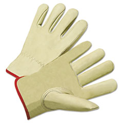 Anchor Brand® GLOVES PREM DRIVER XL 4000 Series Cowhide Leather Driver Gloves, X-Large