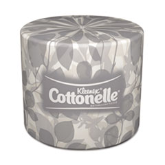 KIMBERLY-CLARK PROFESSIONAL* KLEENEX COTTONELLE Two-Ply Bathroom Tissue, 506 Sheets/Roll, 40 Rolls/Carton