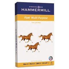 Hammermill Fore MP Multipurpose Paper, 96 Brightness, 20 lb, 8-1/2 x 14, White, 500/Ream