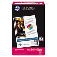 HP Multipurpose Paper, 96 Brightness, 20lb, 8-1/2 x 14, White, 500 Sheets/Ream