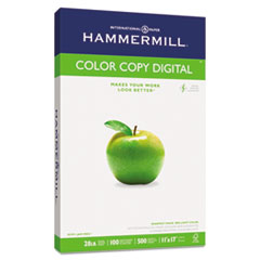 Hammermill Color Copy Paper, 100 Brightness, 28lb, 11 x 17, Photo White, 500/Ream