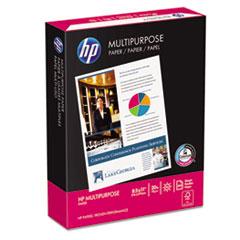 HP Multipurpose Paper, 96 Brightness, 20lb, 8-1/2 x 11, White, 500 Sheets/Ream
