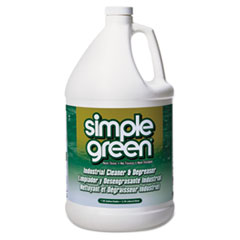 simple green All-Purpose Industrial Degreaser/Cleaner, 1gal Bottles, 6/Carton