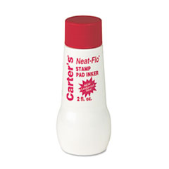Carter's Neat-Flo Bottle Inker, Two Ounces, Red