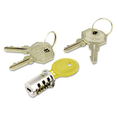 ALE KCSDLF Alera Key-Alike Lock Core Set ALEKCSDLF
