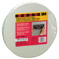 Scotch Foam Mounting Double-Sided Tape, 1