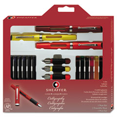 Sheaffer Calligraphy Pen Set, Maxi Kit, 4 Nibs