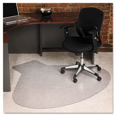 66x60 Workstation Chair Mat, Professional Series AnchorBar for Carpet up to 3/4