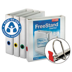 Cardinal FreeStand Easy Open Binder with Locking Slant-D Shape Ring , 1-1/2