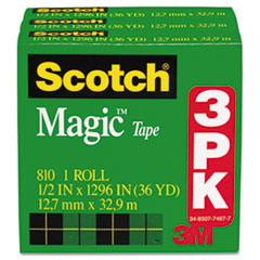 Scotch Magic Tape Refill, 1/2