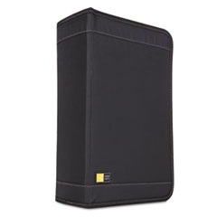 Case Logic CD/DVD Wallet Holds 136 Discs, Nylon, Black