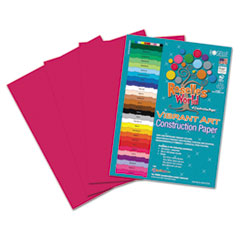 RLP 62801 Roselle Vibrant Art Heavyweight Construction Paper RLP62801