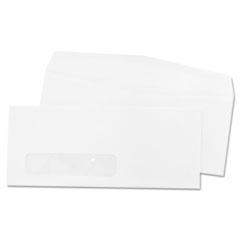 Quality Park Laser & Inkjet Envelope, Window, Side, #10, White, 500/Box