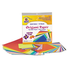 Pacon Origami Paper, 30 lbs., 9-3/4 x 9-3/4, Assorted Bright Colors, 55 Sheets/Pack