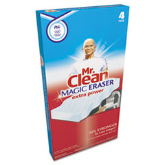 Mr. Clean Magic Eraser Extra Power, 4/Box