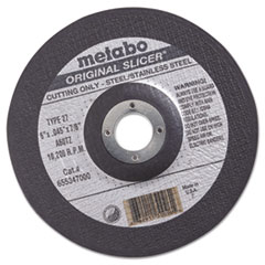 "MEB 55347 metabo  ""ORIGINAL SLICER"" Cutting Wheel 55347 MEB55347"