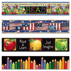 Teacher Created Resources Susan Winget Border Trim Variety Pack, 3 x 35 Panels, 48/Set