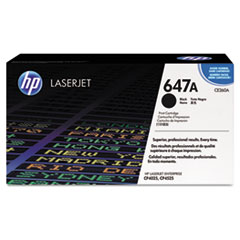 CE260AG (HP 647A) Government Toner Cartridge, 8,500 Page-Yield, Black