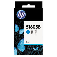 51605B (HP 550) Ink Cartridge, 550 Page-Yield, Blue
