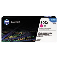 CE743A (HP 307A) Toner Cartridge, 7300 Page-Yield, Magenta