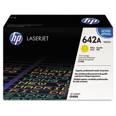 HP 642A, (CB402AG) Yellow Original LaserJet Toner Cartridge for US Government