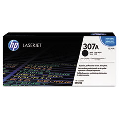 CE740A (HP 307A) Toner Cartridge, 7000 Page-Yield, Black