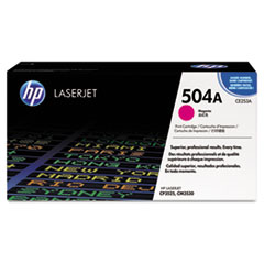 HP 504A, (CE253AG) Magenta Original LaserJet Toner Cartridge for US Government
