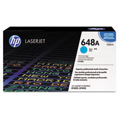 CE261AG (HP 648A) Government Toner Cartridge, 11,000 Page-Yield, Cyan
