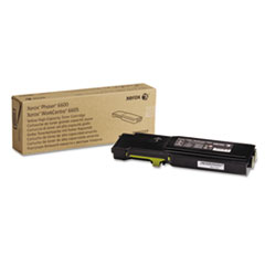Xerox 106R02227 High Capacity Toner, 6000 Page-Yield, Yellow
