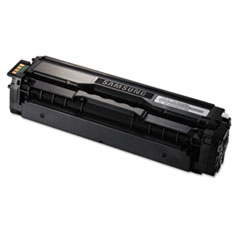 Samsung CLTK504S Toner, 2500 Page-Yield, Black