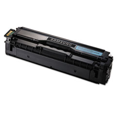 Samsung CLTC504S Toner, 1800 Page-Yield, Cyan