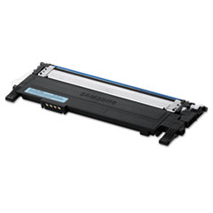Samsung CLTC406S Toner, 1000 Page-Yield, Cyan