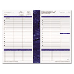 FDP 37062 FranklinCovey Monticello Dated Weekly/Monthly Planner Refill FDP37062