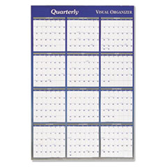AT-A-GLANCE Vertical/Horizontal Erasable Wall Planner, 48