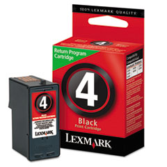 Lexmark 18C1974 Ink, 175 Page-Yield, Black
