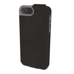 Kensington Portafolio Flip Wallet for iPhone 5, Black Marble
