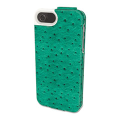 Kensington Portafolio Flip Wallet for iPhone 5, Teal