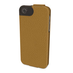 Kensington Portafolio Flip Wallet for iPhone 5, Tan