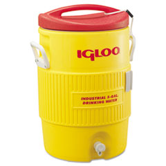 Igloo® COOLER 5 GL PLASTC YL-RD INDUSTRIAL WATER COOLER, 5 GAL, YELLOW-RED