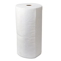 "SPC® SORBENT OIL 30""X150' RL Env Maxx Enhanced Oil-Only Sorbent-Pad Roll, 54gal, 30"" X 150ft, White"