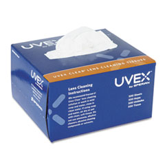 Uvex Lens Cleaning Moistened Towelettes, 100/Box