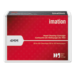imation Dry Process Cleaning Cartridge for 4MM DDS/DataDAT, 30 to 50 Uses